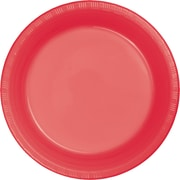 Touch of Color Coral Plastic Plates, 20 pk (28314621)