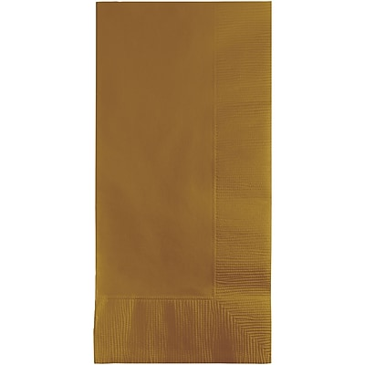 Touch of Color Glittering Gold Napkins, 50 pk