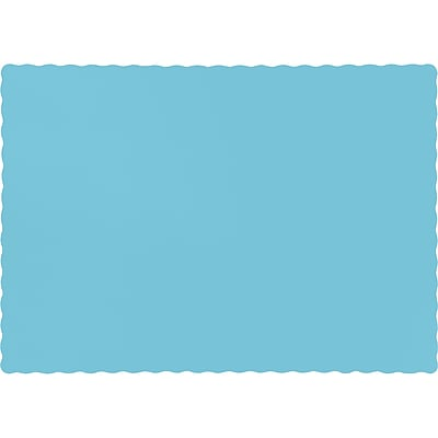 Touch of Color Pastel Blue Placemats, 50 pk (863279B)
