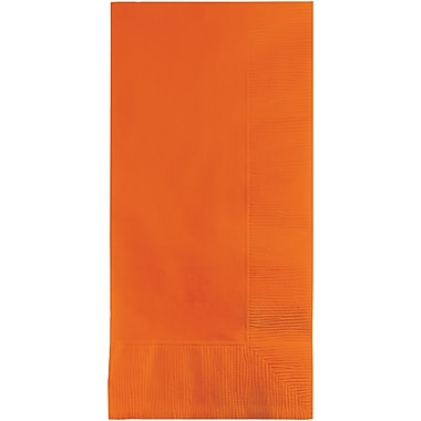 Touch of Color Sunkissed Orange Napkins, 8.5 x 4, 50 pk