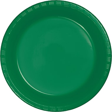 Touch of Color Emerald Green Plastic Dessert Plates, 20 pk (28112011)