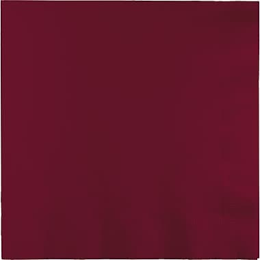 Touch of Color Burgundy Red Napkins,6.5 x 6.5, 50 pk