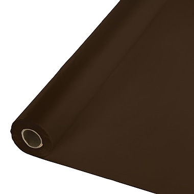 Touch of Color Chocolate Brown Plastic Banquet Roll (010368)