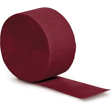 Touch of Color Burgundy Red Streamer (078192)