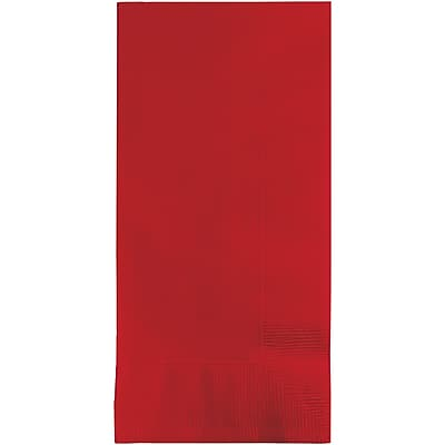 Touch of Color Classic Red Napkins, 50 pk