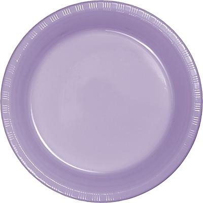 Touch of Color Luscious Lavender Purple Plastic Dessert Plates, 20 pk (28193011)