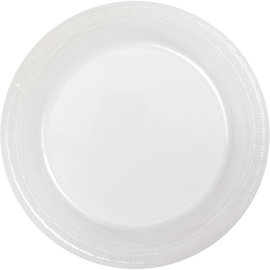 Touch of Color Clear Plastic Plates, 50 pk (28114121B)