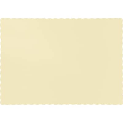 Touch of Color Ivory Placemats, 50 pk (863264B)