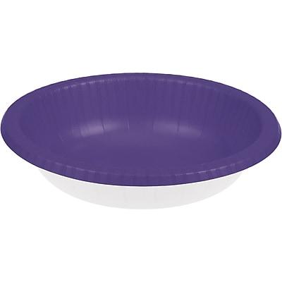 Touch of Color Purple Paper Bowls, 20 pk (173268)