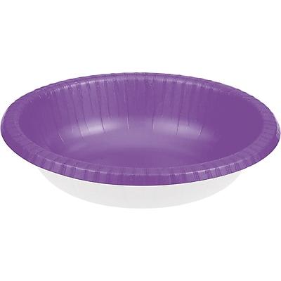 Touch of Color Amethyst Purple Paper Bowls, 20 pk (318913)