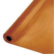 Touch of Color Pumpkin Spice Orange Plastic Banquet Roll (323377)
