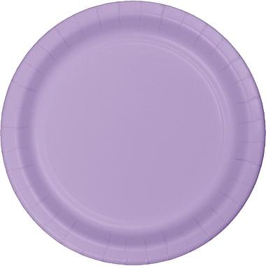 Touch of Color Luscious Lavender Purple Dessert Plates, 24 pk (79193B)