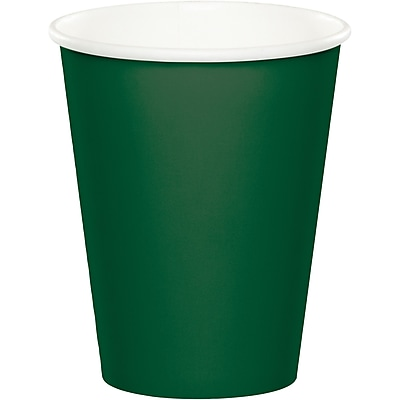 Touch of Color Hunter Green Cups, 24 pk (563124B)