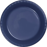 Touch of Color Navy Blue Plastic Dessert Plates, 20 pk (28113711)