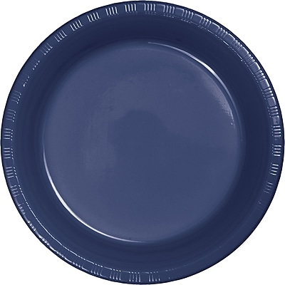 Touch of Color Navy Blue Plastic Dessert Plates, 20 pk (28113711)