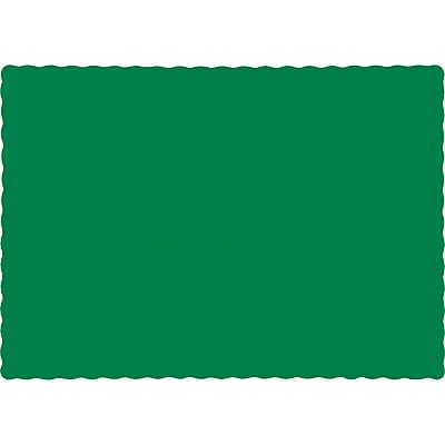 Touch of Color Emerald Green Placemats, 50 pk (863261B)