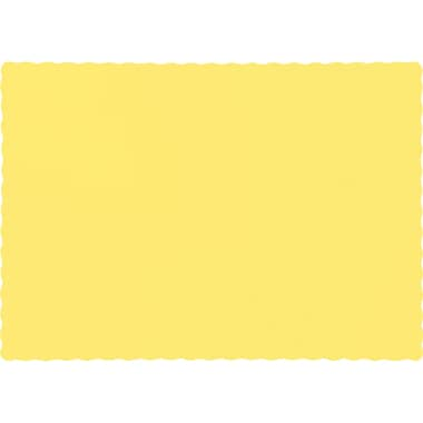 Touch of Color Mimosa Yellow Placemats, 50 pk (863266B)