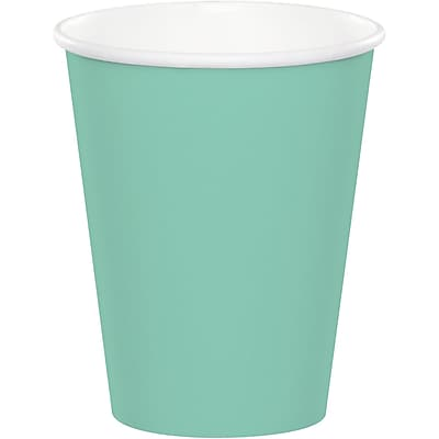 Touch of Color Fresh Mint Green Cups, 24 pk (318875)