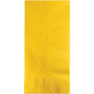 Touch of Color School Bus Yellow Napkins, 100 pk