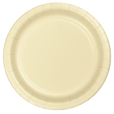 Touch of Color Ivory Paper Plates, 24 pk (47161B)