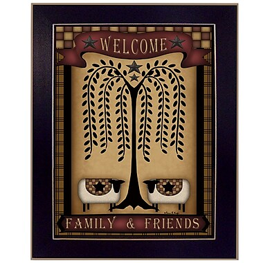 TrendyDecor4U Welcome Family & Friends -12
