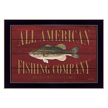 TrendyDecor4U All American Fisherman -18