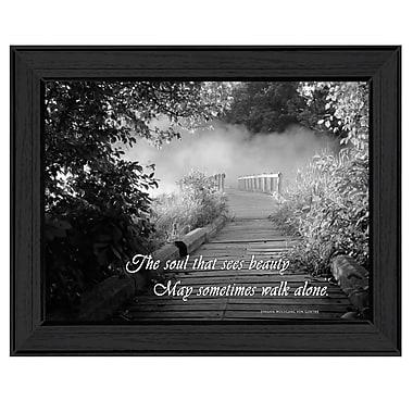 TrendyDecor4U Beauty -Grayscale Framed Print -12