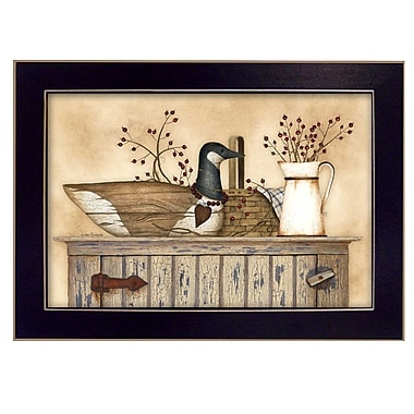 TrendyDecor4U Duck and Berry Still Life -18