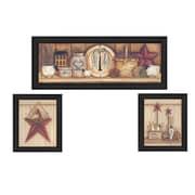 "TrendyDecor4U Stars -2-11""x14"" Framed Print (V143-405)"