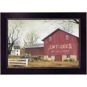 "TrendyDecor4U Antique Barn Deco -8.5""x12.25"" Framed Print (BJ189E-712)"