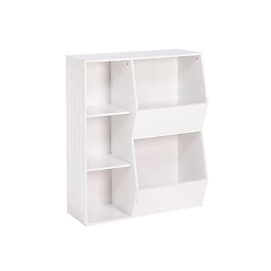 RiverRidge Kids 3-Cubby, 2-Veggie Bin Floor Cabinet, White (02-146)