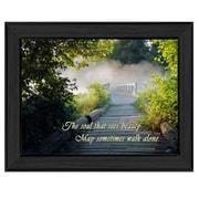 "TrendyDecor4U Beauty -12""x16"" Framed Print (ME03C-405)"