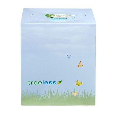 Green2® Tree Free Facial Tissue Cube, 90 sheet, 30 count