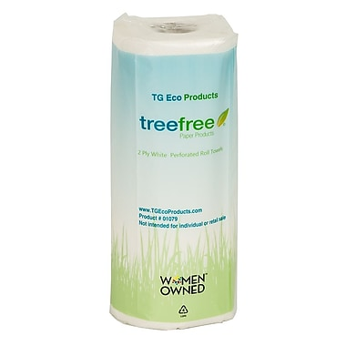 Green2® Tree Free Paper Towels, 80 sheets, 15 count