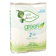 Green2® Tree Free Paper Towels, 65 sheets, 2 pack, 48 packs