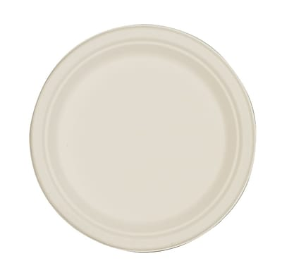 Green2® Tree Free White Plates, 8.86