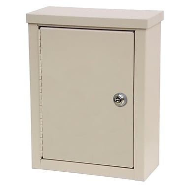 Omnimed Small Wall Storage Cabinet with Flat Key Lock, 12