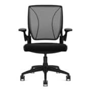 Humanscale Diffrient World Mesh Back Task Chair, Black (W11BM11CF10)