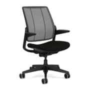 Humanscale Smart Mesh Back Task Chair, Black (S411BM11CF10)