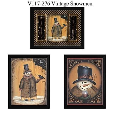 TrendyDecor4U Vintage Snowman -3-12