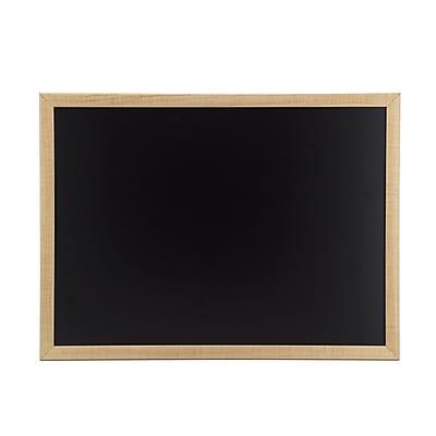 U Brands Chalkboard, 23 x 17 Inches, Oak Wood Frame (310U00-01)