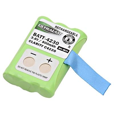 Ultralast® 3.6 V Ni-MH Cordless Phone Battery For Clarity C4230 (BATT-4230)