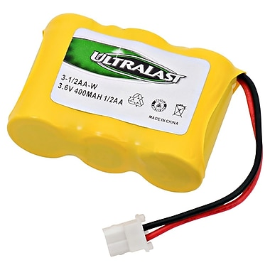 Ultralast® 3.6 V Ni-CD Cordless Phone Battery For Cobra CP 480 (3-1/2AA-W)
