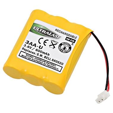 Ultralast® 3.6 V Ni-CD Cordless Phone Battery For Southwestern Bell FF-9915 (3AA-U)