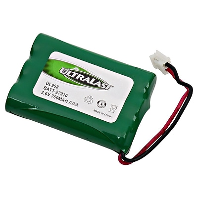 Ultralast® 3.6 V Ni-MH Cordless Phone Battery For General Electric 2-6980GE1 (BATT-27910)