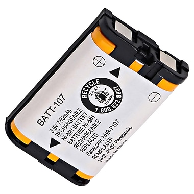 Ultralast® 3.6 V Ni-MH Cordless Phone Battery For Panasonic KX-TG6072B (BATT-107)