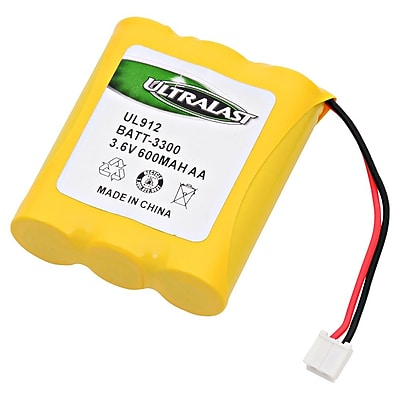 Ultralast® 3.6 V Ni-CD Cordless Phone Battery For AT&T 6100 (BATT-3300)
