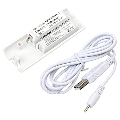 Ultralast® 2.4 V Ni-MH Video Game Battery For Nintendo WII Controllers (GBASP-11LI)