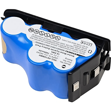 Dantona® 7.2 V Ni-MH Vacuum Battery For Euro-Pro Shark V615 (VAC-V615NMH)