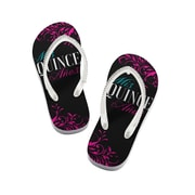 Lillian Rose Quince Anos Flip Flops - Medium (QA790 FM)